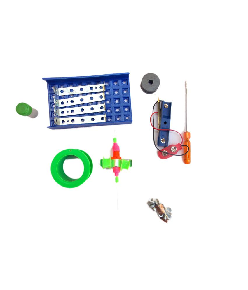 Electric Motor Project Kit: Kuthuhal Dc Motor Making Science Project Kit