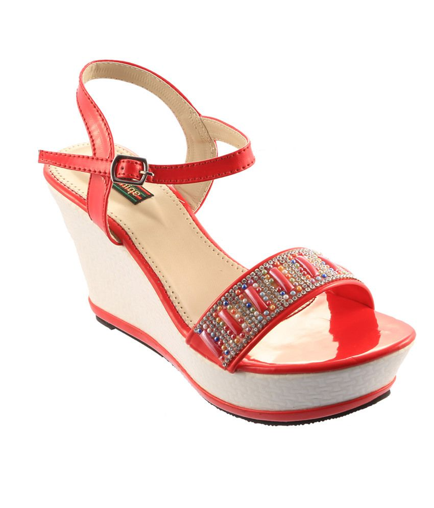 e06a9f03d220 Sneha Unique Footwear Maroon High Heel T-strap Daily Wedges Women Sandals  Price in India- Buy Sneha Unique Footwear Maroon High Heel T-strap Daily  Wedges ...
