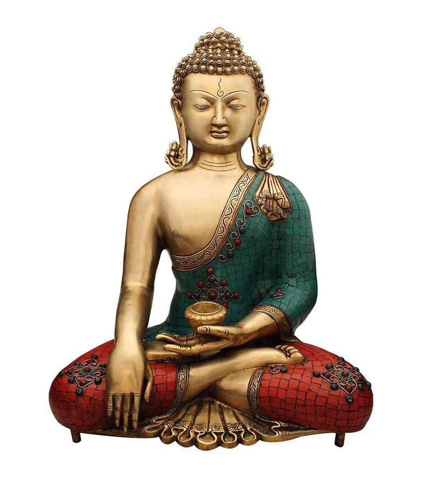 Antique Table Decor Buddha Statue Collectable Religious: Statuestudio Buddha Statue