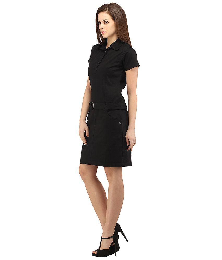 X small black dresses online