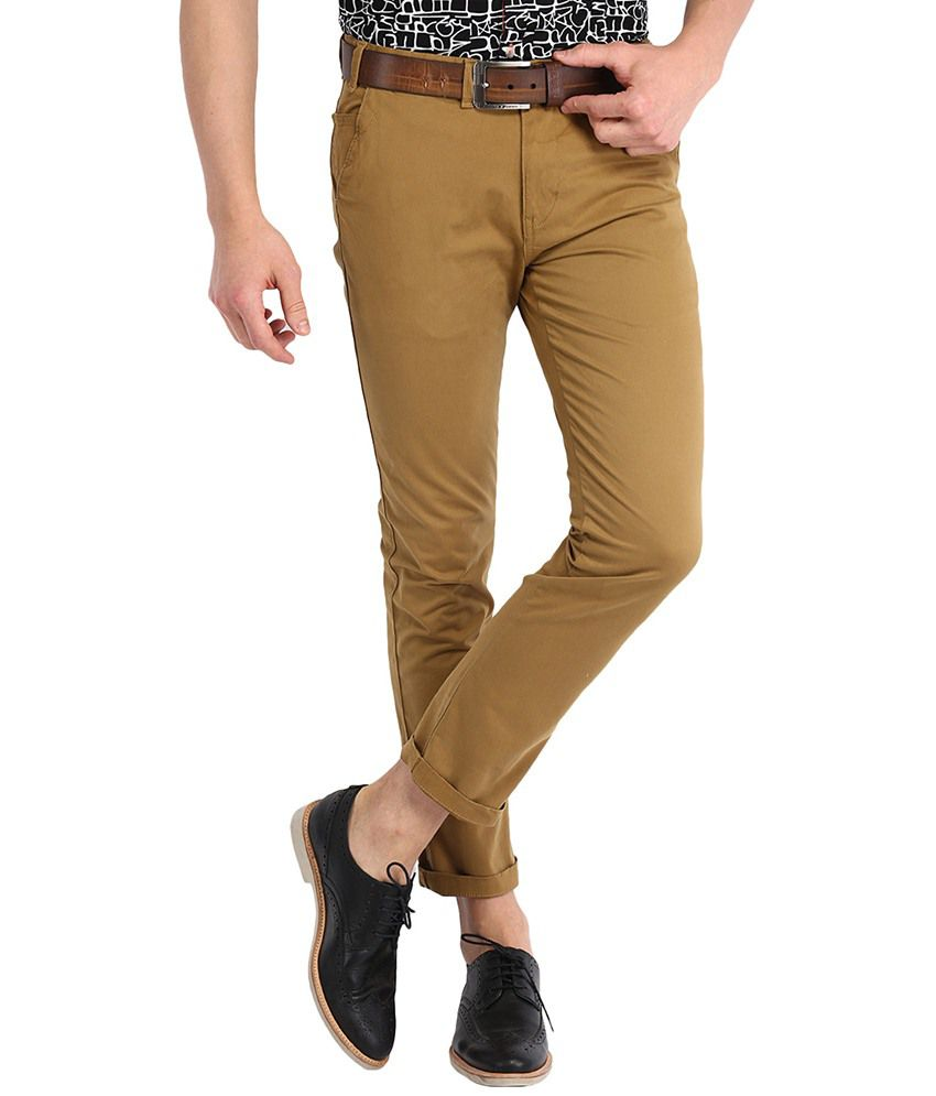 Highlander Brown Slim Formals