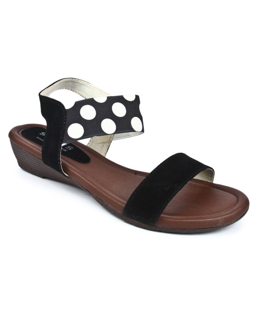 Series By Jove Black Sandal