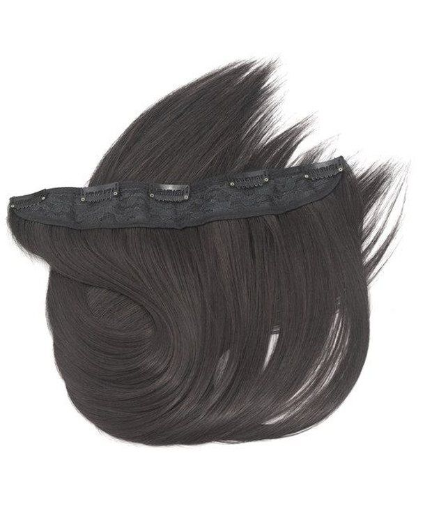 Out Of Box Straight Hair Extensions Synthetic Hair Natural Black One