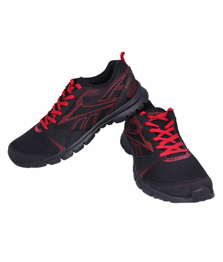 46a28d372dd4 Reebok Black And Red Colour Running Shoes For Men - Buy Reebok Black ...