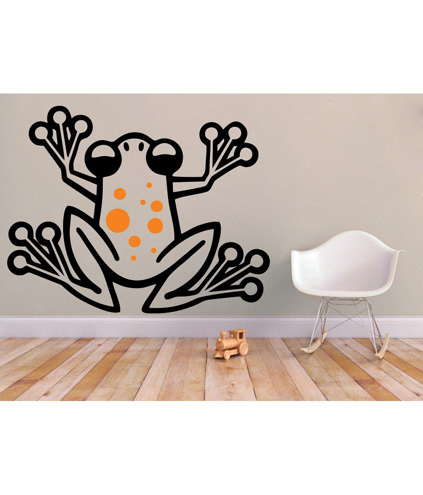 Snapdeal Wall Decor Items : Decor kafe frog wall decal buy