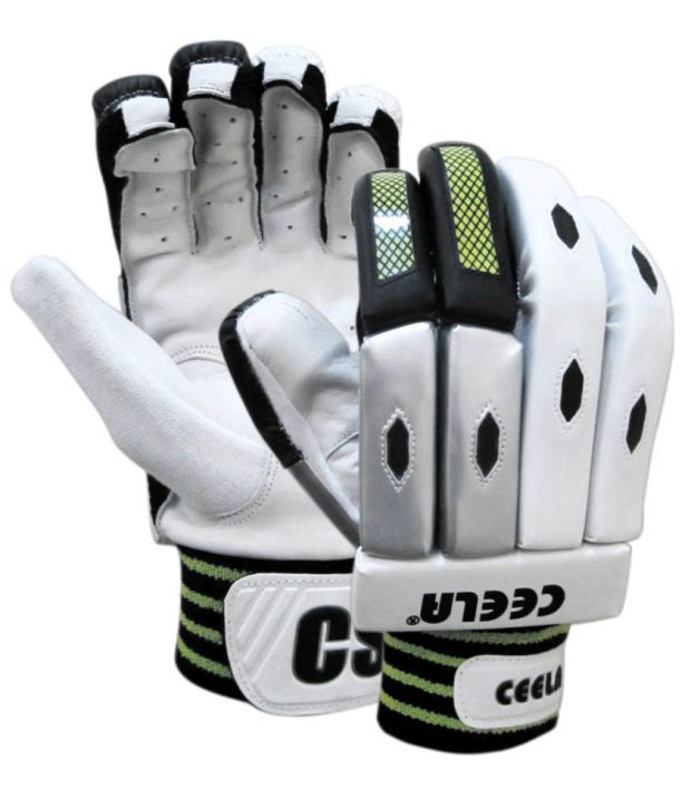 Ceela Sports Test Batting Gloves-youth