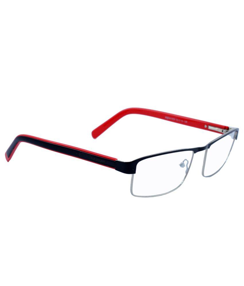 enetram black rectangle eyeglass frame for buy