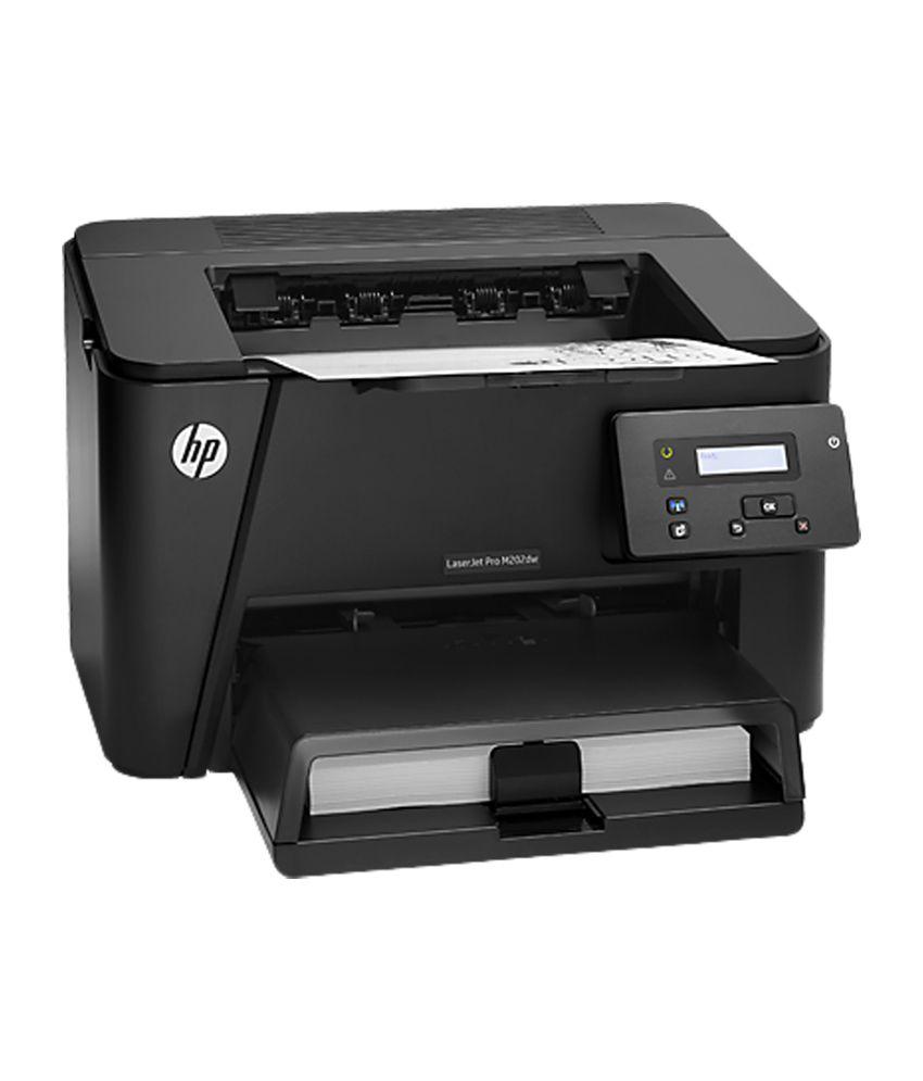 HP - LaserJet Pro M202dw Single Function Laser Printer