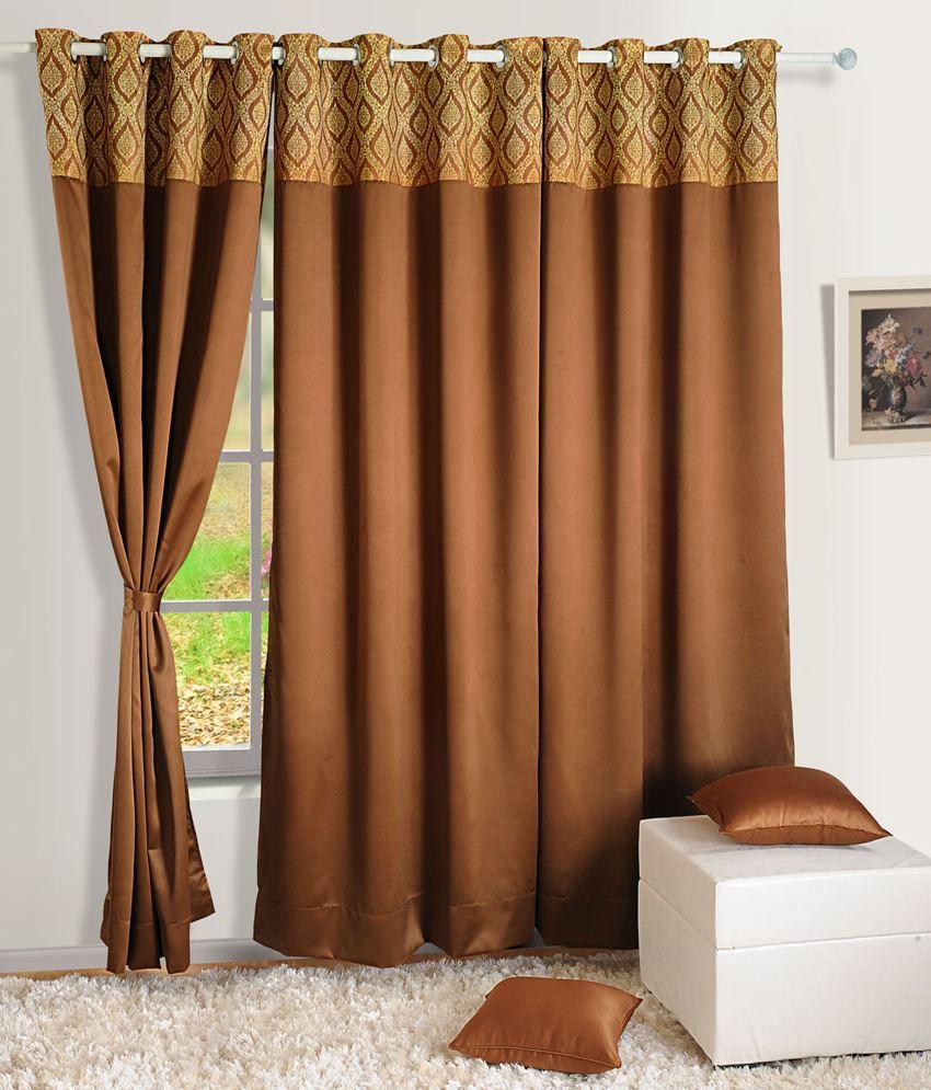 Swayam Single Window Eyelet Curtain