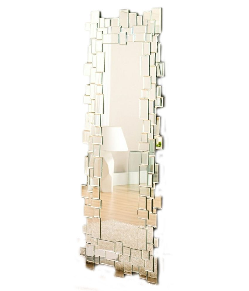 Glamour Glossy Decorative Wall Mirror: Buy Glamour Glossy ...