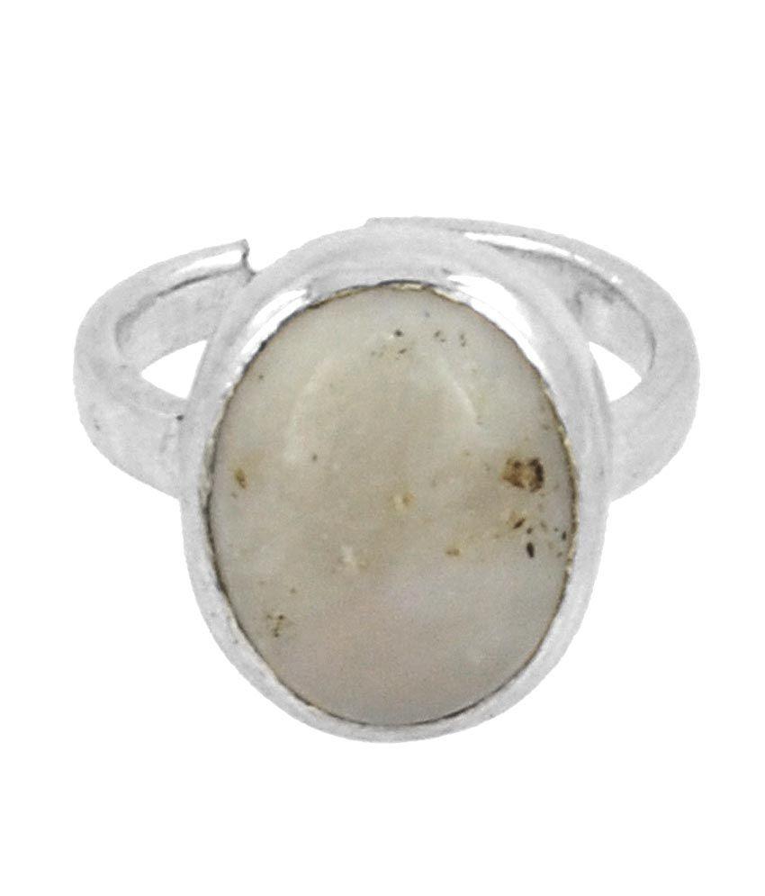 Opal Avaatar 3.25 Ratti April Month Born Opal Gemstone Ring In Silver