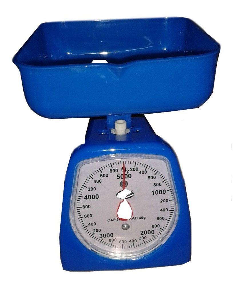 Bismillah Traders Kitchen Weight Machine - Blue: Buy ...