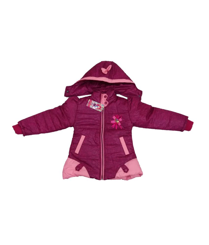 Come In Kids Girls Padded Designer Jacket