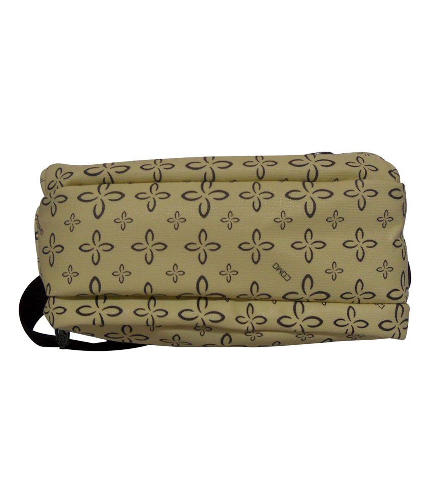 Donex Cream Printed Medium Size Sling Bag - Buy Donex Cream ...