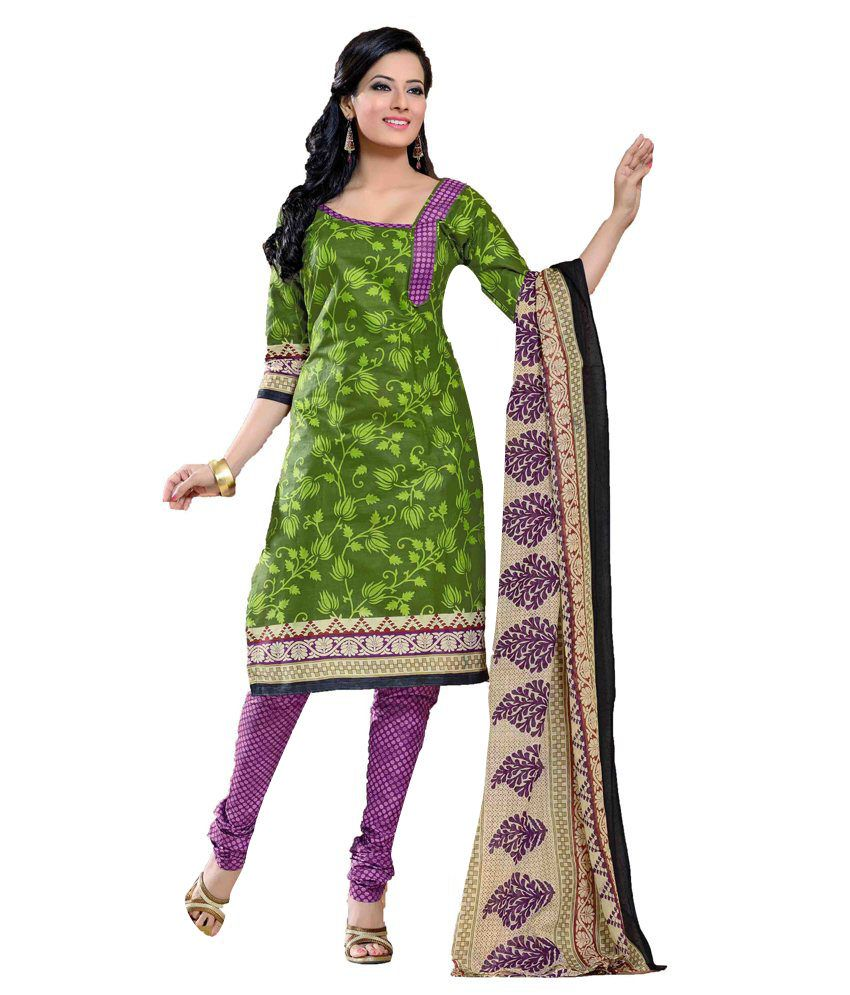 Indian Wear Online Indian Wear Online Cotton Dress Material