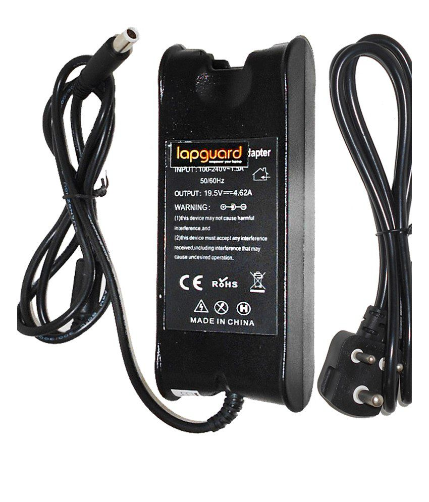 Lapguard Laptop Charger For Dell Inspiron 14r 14z 19.5v 4.62a 90w Connector