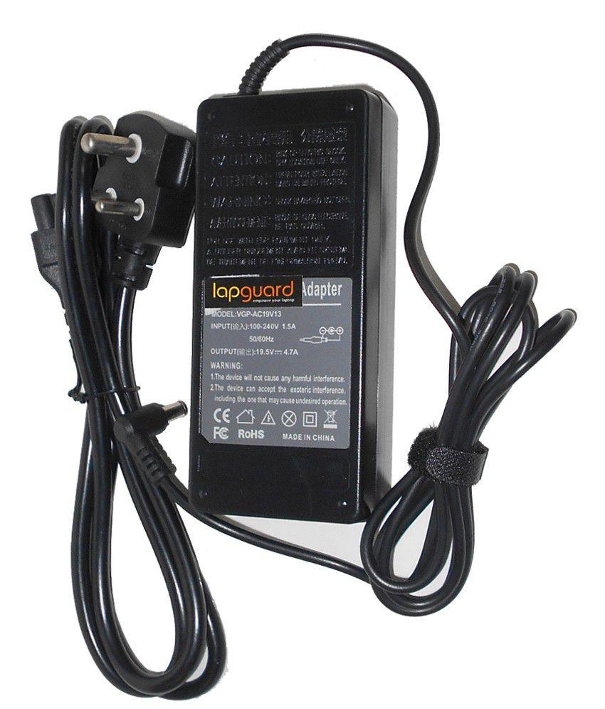 Lapguard Laptop Charger For Samsung Np-n145-jp02de Np-n145-jp04de 19v 2.1a 40w Connector