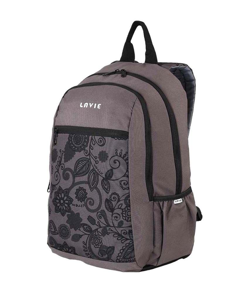 3e7f0dcb9 Lavie Grey Men Backpacks - Buy Lavie Grey Men Backpacks Online at ...