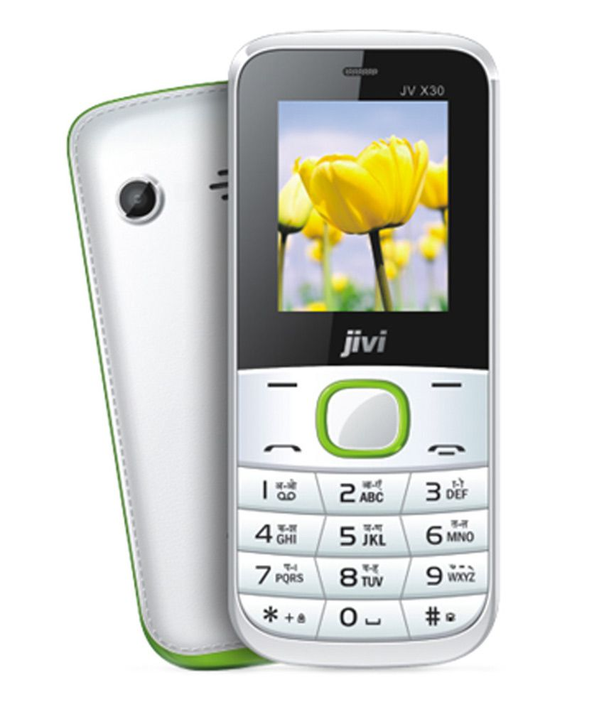 Jivi Multisim Mobile Phone X 30 White
