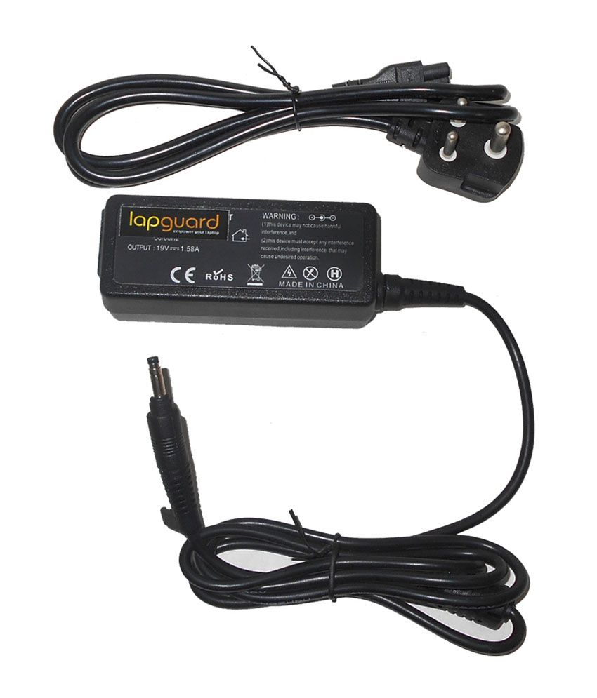 Lapguard Laptop Charger For Compaq Mini 110c-1050sf 110c-1065ei 19v 1.58a 30w Connector