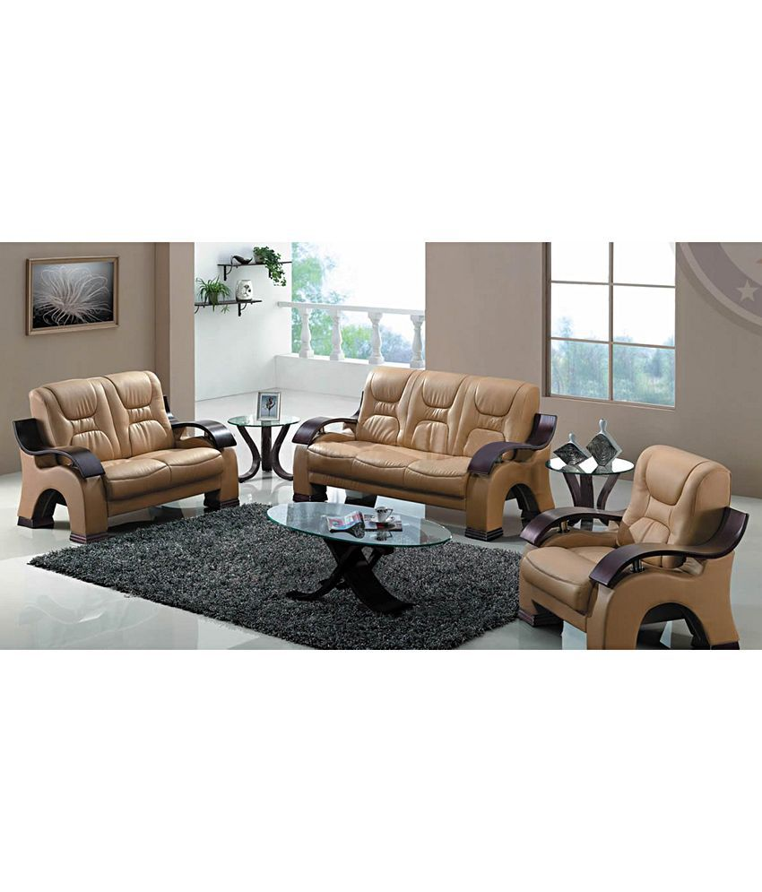 6 seater luxury sofa set with poly fibre seats buy 6 seater luxury rh snapdeal com