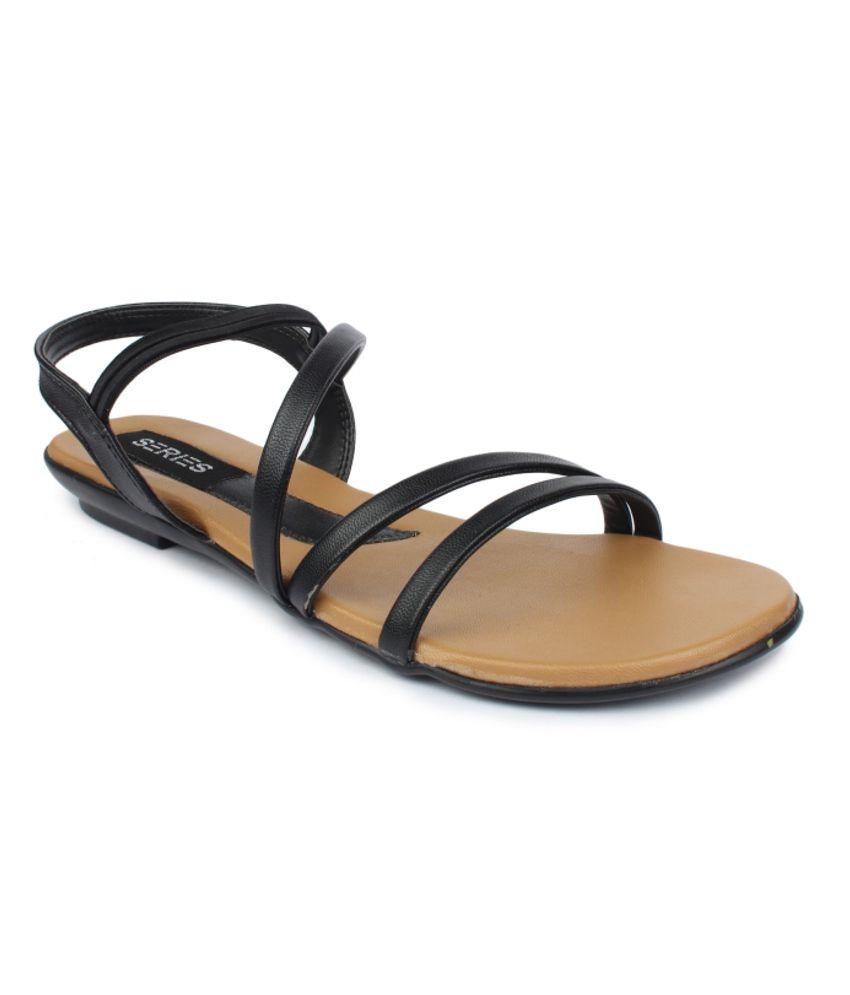 Series Black Sandal