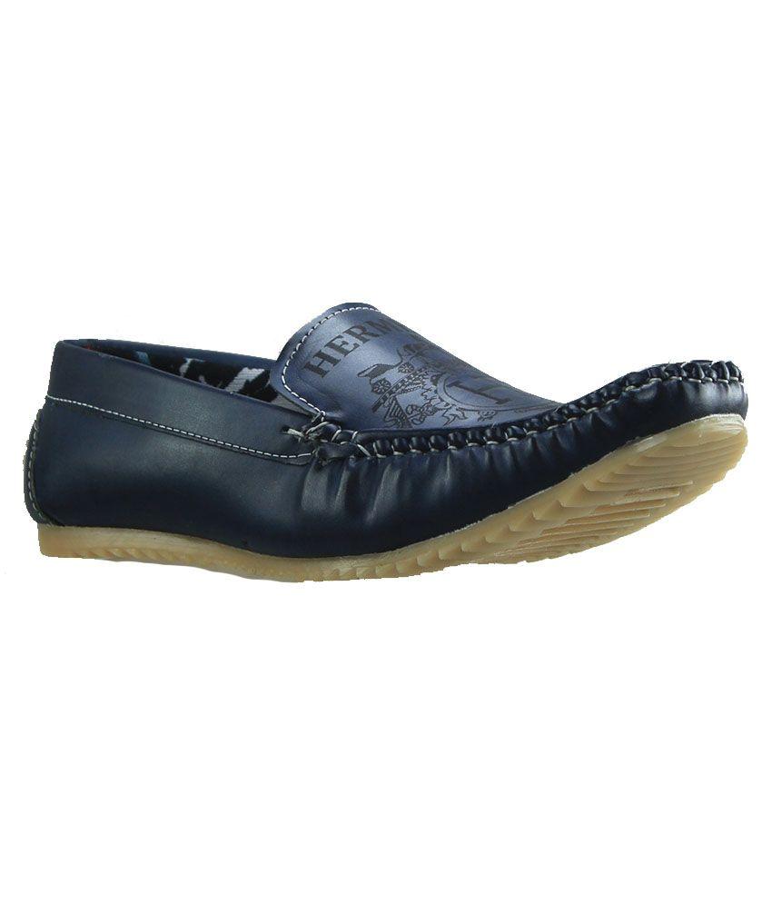 Dziner Blue Loafers