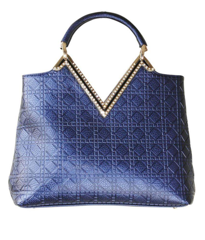 Eclat Adelisa Blue Shoulder Bags
