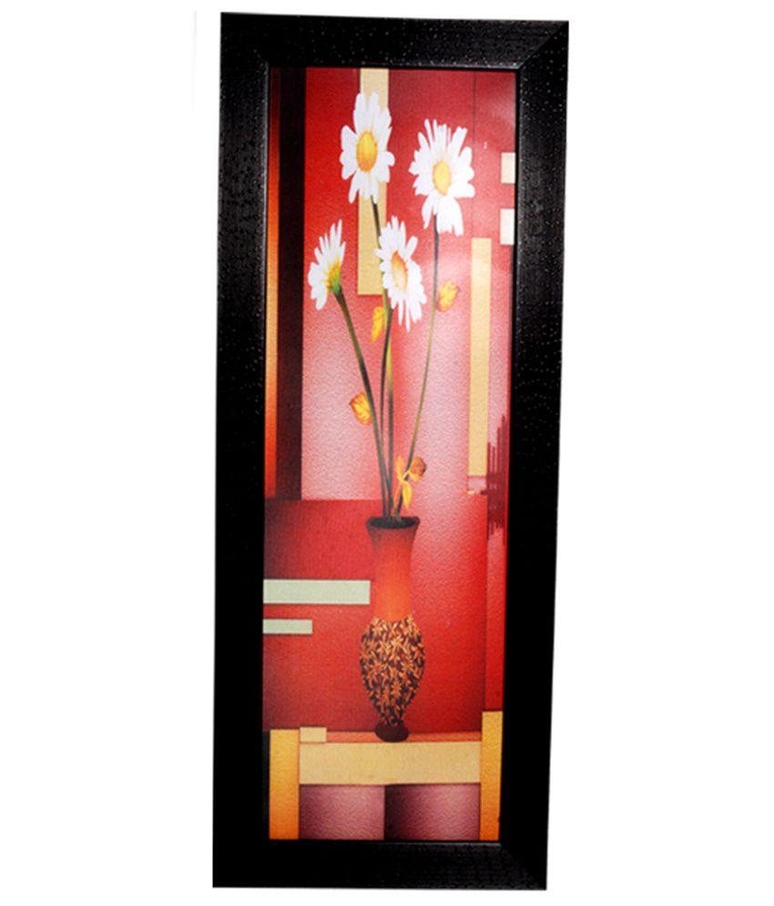 Hrinkar Decorative Printed Wall Frame - Photo Size 6 W X 18 H Inch