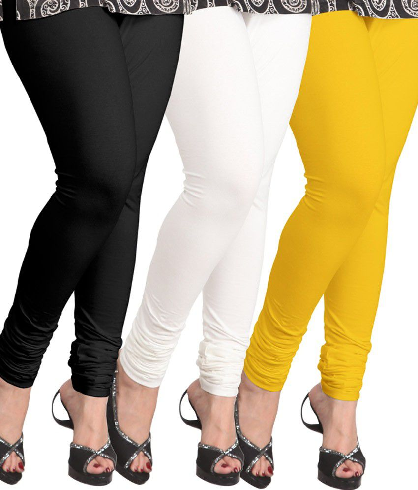 Lux Lyra Multi Color Cotton Leggings Price in India - Buy Lux Lyra Multi Color Cotton Leggings ...