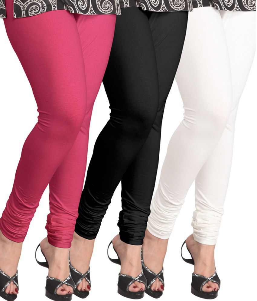 Lux Lyra Multi Color Cotton Leggings Price in India - Buy Lux Lyra Multi Color Cotton Leggings ...