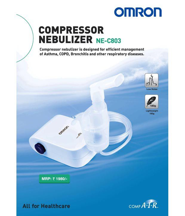 ... Omron NE C803 Compact & Lightweight Compressor Nebulizer For Child & Adult With Low Noise Operation ...