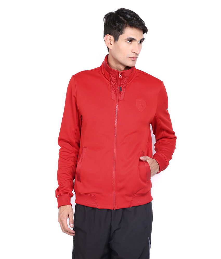 ce0c486f13135d Puma Ferrari Red Track Jacket - Buy Puma Ferrari Red Track Jacket Online at  Low Price in India - Snapdeal