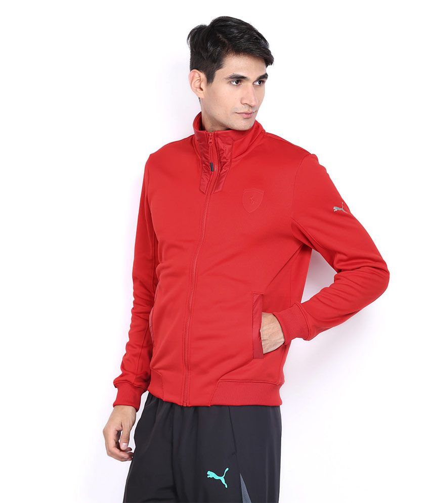 703bfcbf4113ef Puma Ferrari Red Track Jacket - Buy Puma Ferrari Red Track Jacket ...