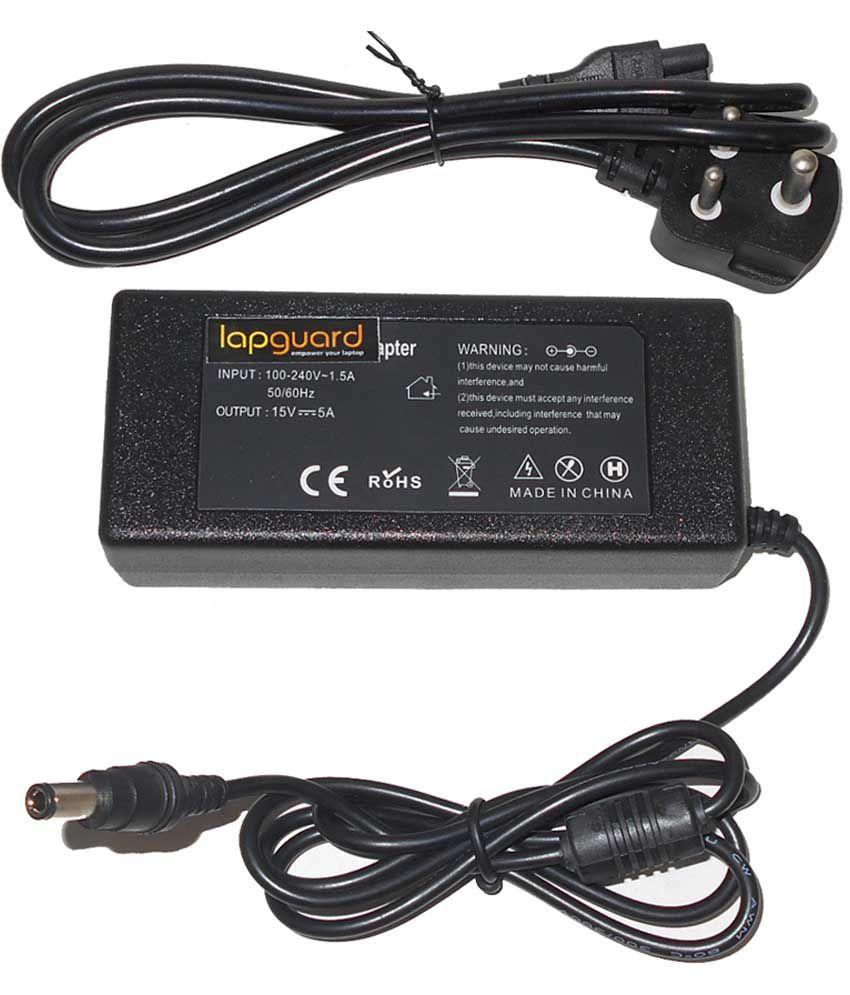 Lapguard Laptop Adapter For Toshiba Satellite Pro L40-15e L40-17e L40-17f, 19v 3.95a 75w Connector