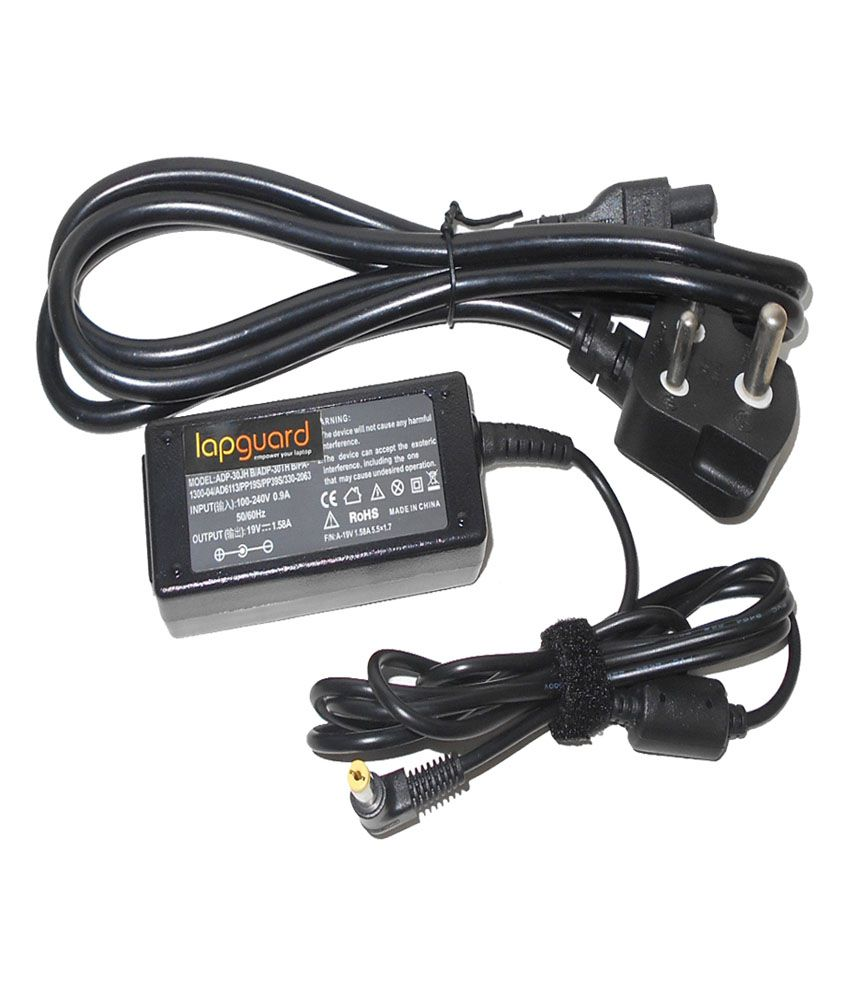 Lapguard Laptop Charger For Packard Bell Dot Se/r-110uk 19v 1.58a 30w Connector