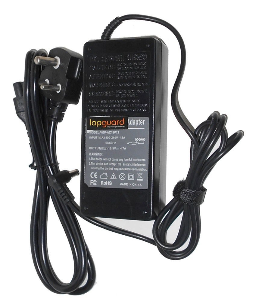 Lapguard Laptop Charger For Samsung Np-rv511-s04de Np-rv515 19v 3.16a 60w Connector