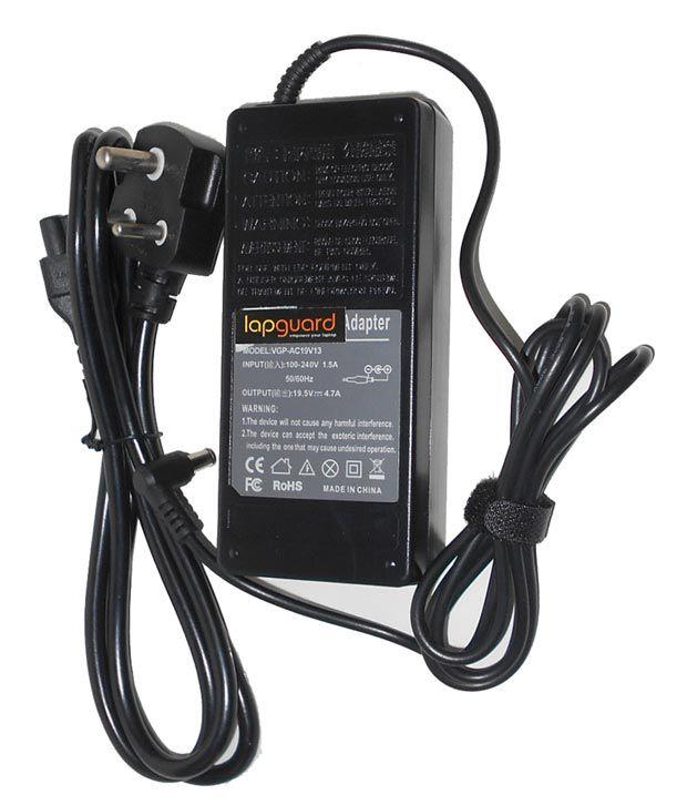 Arb Laptop Adapter For Sony Vpcej2j1e/w Vpcej2l1e 19.5v 4.74a 90w Connector Pin : 6.5 X 4.4 Mm