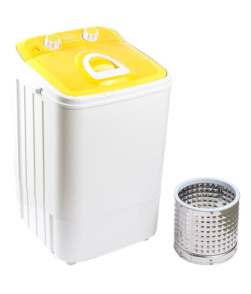 Dmr 46 Kg Portable Mini Washing Machine Semi Automatic With Steel
