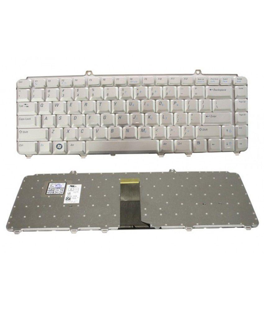 Dgb Dell Inspiron Nk750 Jm629 Mu194 0Nk750 9J.N9283.001 Nsk-D9001 Compatible Laptop Keyboard (Silver) Usb Keyboard With Wire