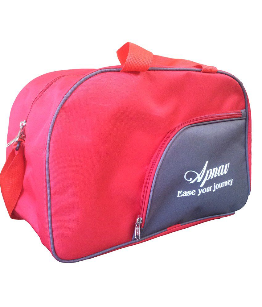 Apnav Red-gray gear Gym Bag