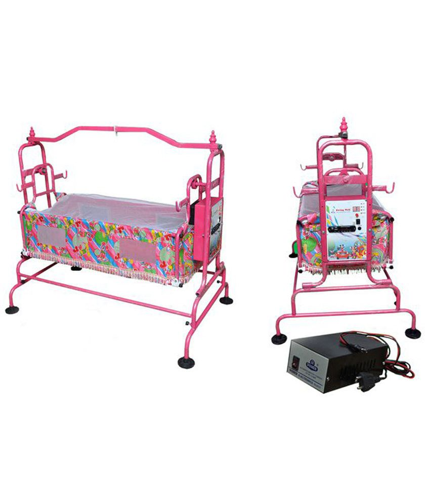 Swing well automatic battery operated electronic cradle