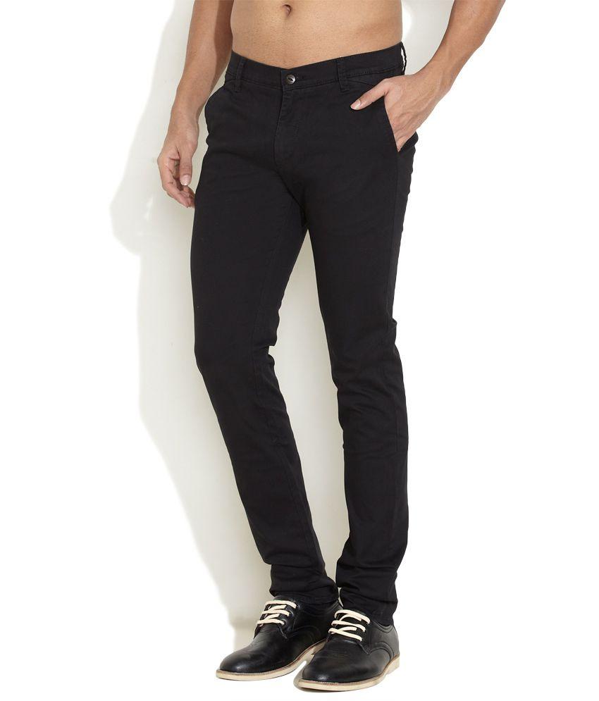 Lee Black Must-Have Casual Pants