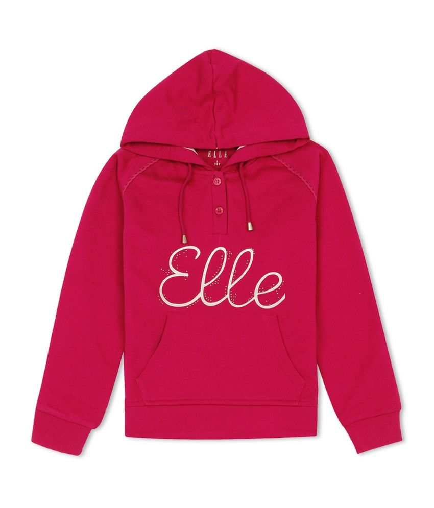 Elle Kids Girls Casual Sweat Shirt