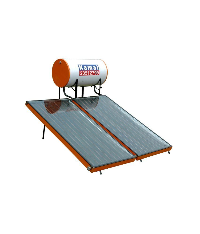 Kamal Solar Solar Water 200 Ltrs - Fpc Pressurised Solar Water ...