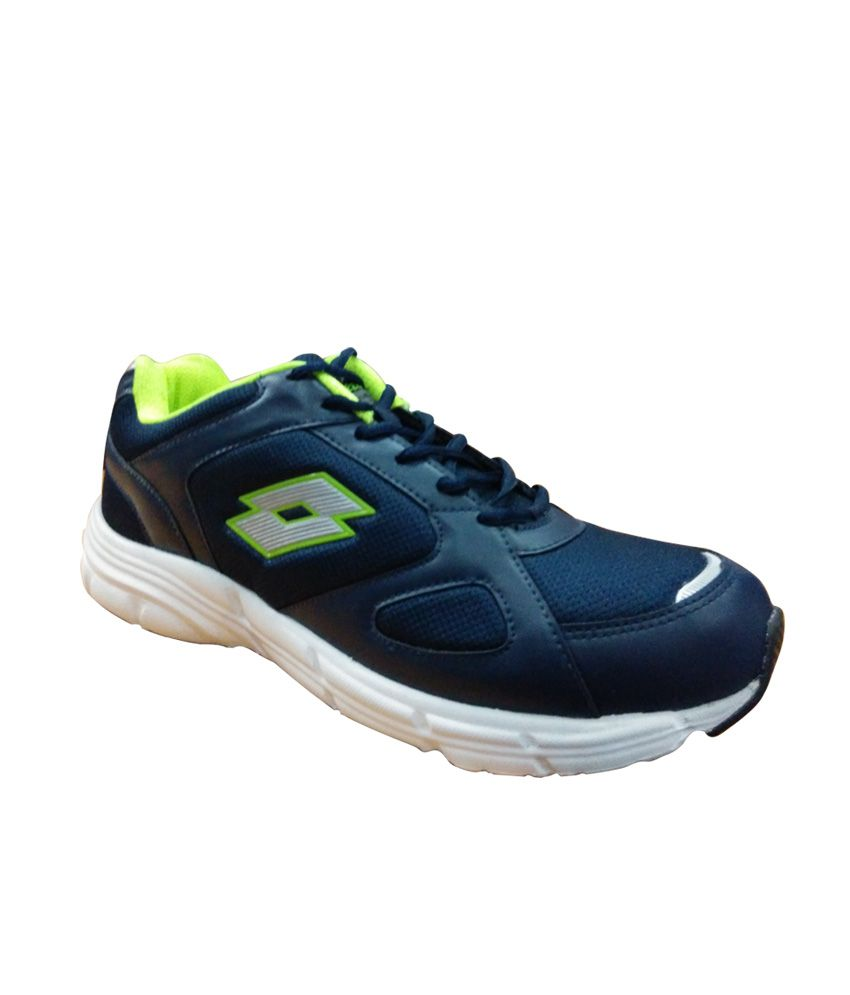 Lotto Navy Colour Stylish Sport Shoes