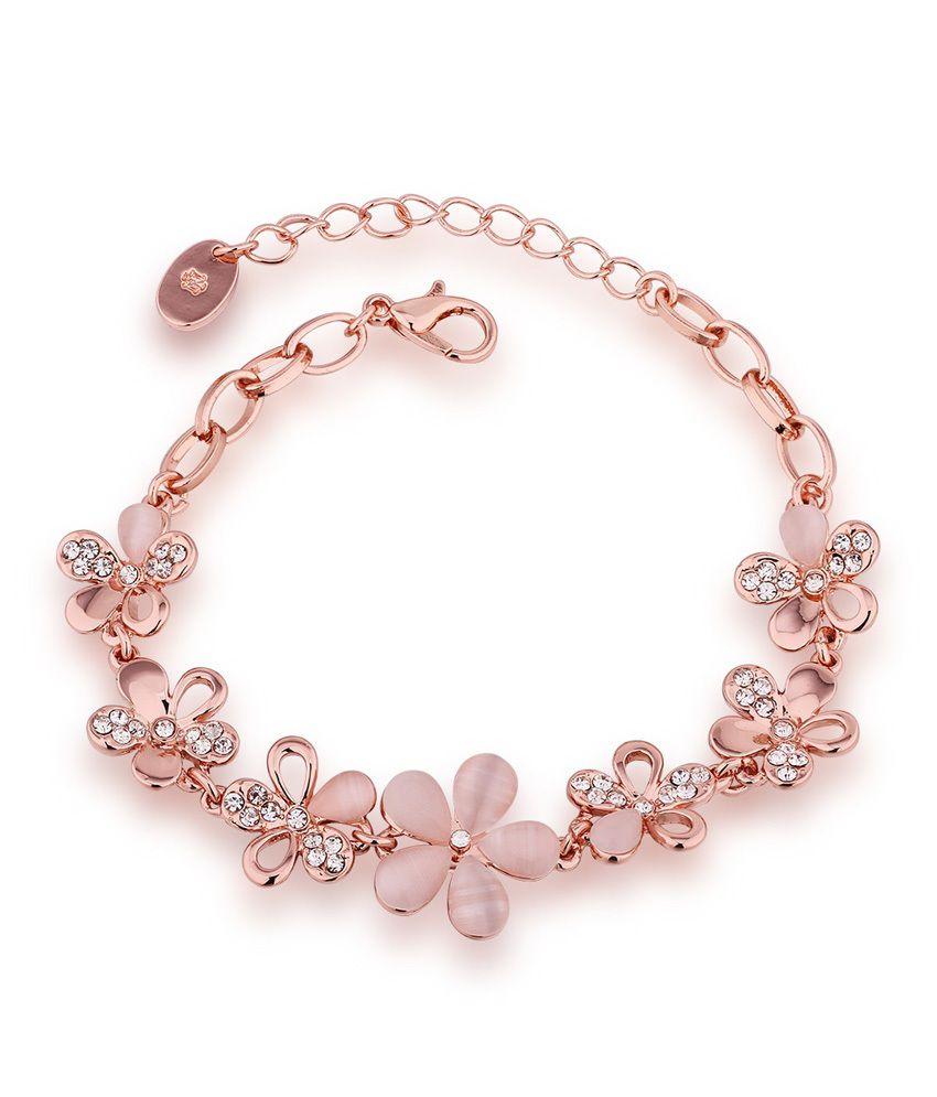 Aaishwarya Floral Bloom Bracelet: Buy Aaishwarya Floral ...