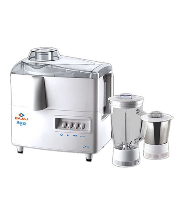 Bajaj New Majesty Juicer Mixer Grinder White