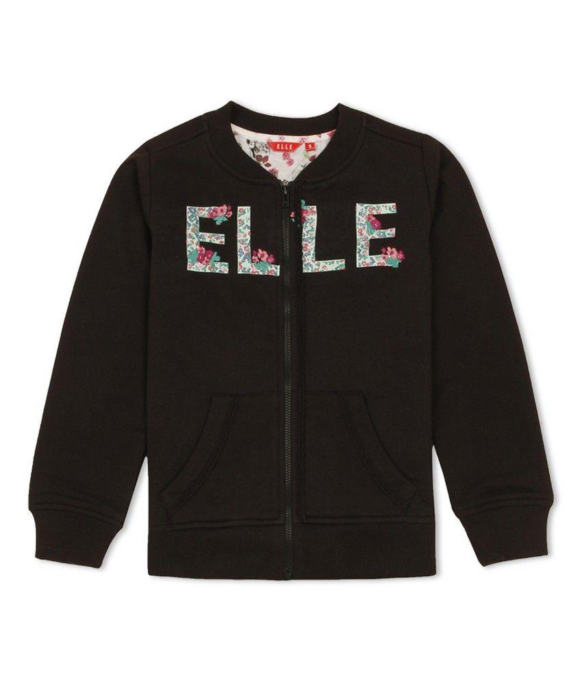 Elle Kids Girls Casual Sweat Shirt