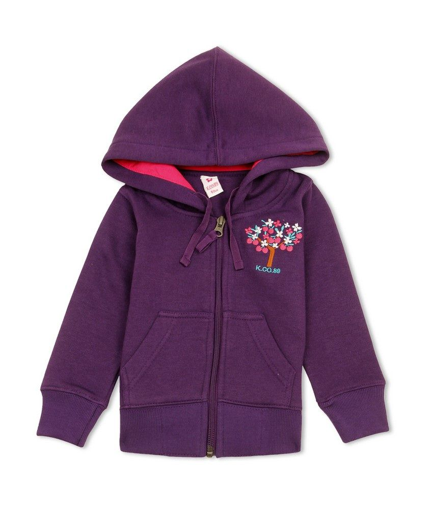 K.CO.89 Girls Casual Sweat Shirt